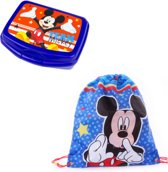 Mickey Mouse Gymtas + Lunchbox / Broodtrommel