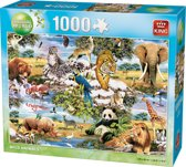 Animals W. 1000pcs Wild Animal