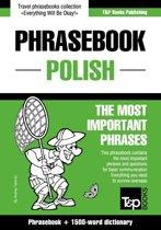 English-Polish phrasebook and 1500-word dictionary