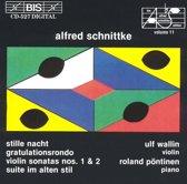 Schnittke - Vl Sonatas