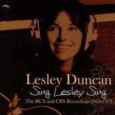 Sing Lesley Sing: The..