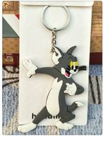 Tom and Jerry - Sleutelhanger - keychain - rubber - Tekenfilm - Tom en Jerry