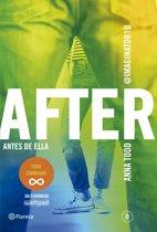After 0. Antes de ella (serie After 0) Edicion colombiana