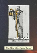 The Hermit One Card Draw Tarot Journal