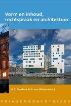Prinsengrachtreeks - Vorm en inhoud, rechtspraak en architectuur