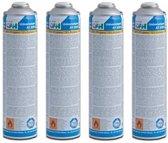 4x Gasfles voor CFH onkruidbrander