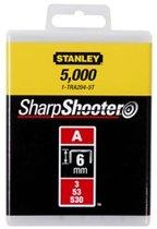 Stanley Nieten 6mm Type A - 5000 Stuks