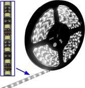 Epoxy waterdichte Rope Light  lengte: 5m  wit licht 5050 SMD LED  30 LED/m