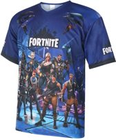 Fortnite Shirt Blauw Kids / Senior-152
