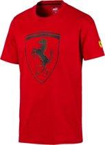 Scuderia Ferrari Big Shield Tee Shirt Heren