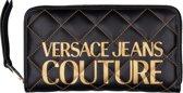 Versace Jeans Couture Dames Portemonnee Gewatteerd - Black