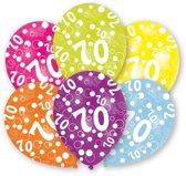 Amscan Ballonnen 70 Jaar 6 Stuks 28 Cm