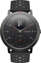 Withings Steel HR Sport -  Hybride Smartwatch - zwart