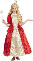 Koning Prins & Adel Kostuum | Royal Queen Paradisia | Meisje | Maat 116 | Carnaval kostuum | Verkleedkleding