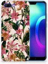 Huawei Honor 10 Uniek TPU Hoesje Flowers