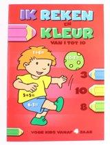 Flash Ik Reken En Kleur: Van 1 Tot 10 Junior Rood