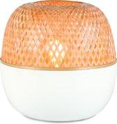 Good & Mojo Tafellamp – MEKONG – Bamboe - Product Grootte: Small