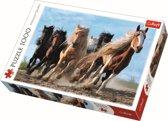 Galopperende paarden, 1000 stukjes Puzzel