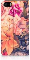 iPhone 5s Bookcover Bosje Bloemen