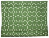 Briljant Baby boxkleed - 80 x 100 cm grid forrest