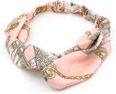 Haarband met Print - Hoofdband - Roze - Musthaves