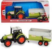 Dickie - Claas Tractor met Aanhangwagen (36cm)
