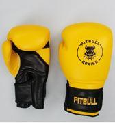 Pitbull Boxing - Bokshandschoenen - Geel - 16 oz