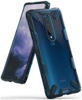 Ringke Fusion X OnePlus 7 Pro Hoesje Blauw