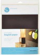 Printable Magnet Paper (Silhouette Cameo of Curio)