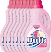 Woolite Wol & Zijde - 8 x 2 L - Wasmiddel - Voordeelverpakking