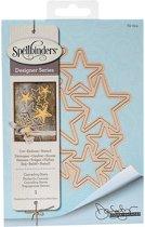 Spellbinders Shapeabilities Dies-Cascading Stars. S5-244