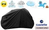 Fietshoes Polyester Geschikt Voor Gazelle Miss Grace C7 HFP Dames 49cm (400Wh) -Zwart