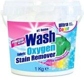 At Home Vlekverwijderaar - Wash Oxygen Poeder - Ultra Color 1 kg