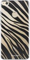 FOONCASE Huawei P8 Lite hoesje TPU Soft Case - Back Cover - Zebra print