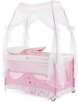kinder Reisbed, box, Campingbedje Sahara Roze, geschikt voor newborns 0+