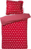 Damai Dotty Spotty - Kinderdekbedovertrek - 120x150 cm - Red