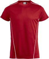 Ice Sport-T polyester 150 g/m² rood/wit m