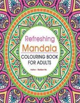 Refreshing Mandala Coloring Book for Adults