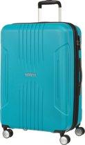American Tourister Tracklite Spinner Spinner Reiskoffer (Medium) - 82 liter - Sky Blue
