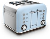Morphy Richards Accents 242100EE - Broodrooster 4 sleuven - Azur Blauw