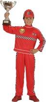 Formule 1 coureur kostuum voor kinderen 116