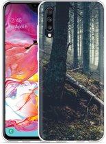 Galaxy A70 Hoesje Dark Forest