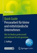 Quick Guide Pressearbeit F R Kleine Und