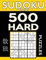 Sudoku Book 500 Hard Puzzles