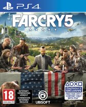 Cover van de game Far Cry 5 PS4