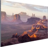The Hunt's Mesa Amerika Aluminium 180x120 - XXL cm - Foto print op Aluminium (metaal wanddecoratie)