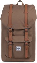 Herschel Supply Co. Little America Rugzak - Cub / Tan Synthetic Leather