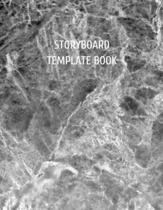 Storyboard Template book: Storyboard Sketchbook Journal Novelty Gift for Creative Diary for Film Director, Blank panels Draw or Write In Ideas