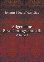 Allgemeine Bevolkerungsstatistik Volume 2