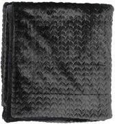 Essenza Faya Plaid - 150x200 cm - Black